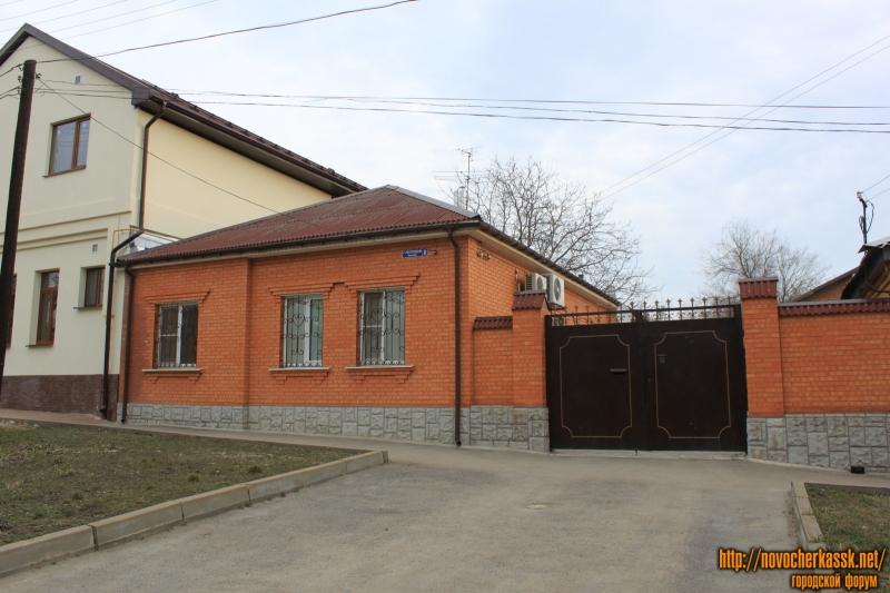 Переулок Галины Петровой, 8