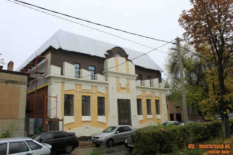 Строительство гостиницы на Атаманской