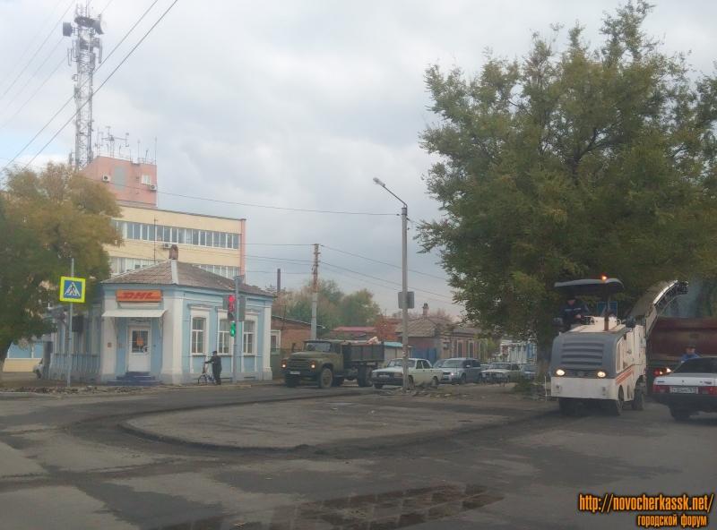 Расширение аллеи на Пушкинской/Баклановском