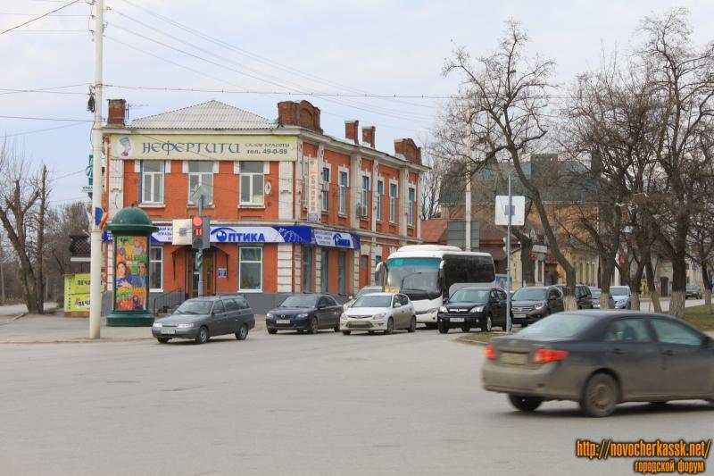 Новый светофор на Баклановском/Пушкинской