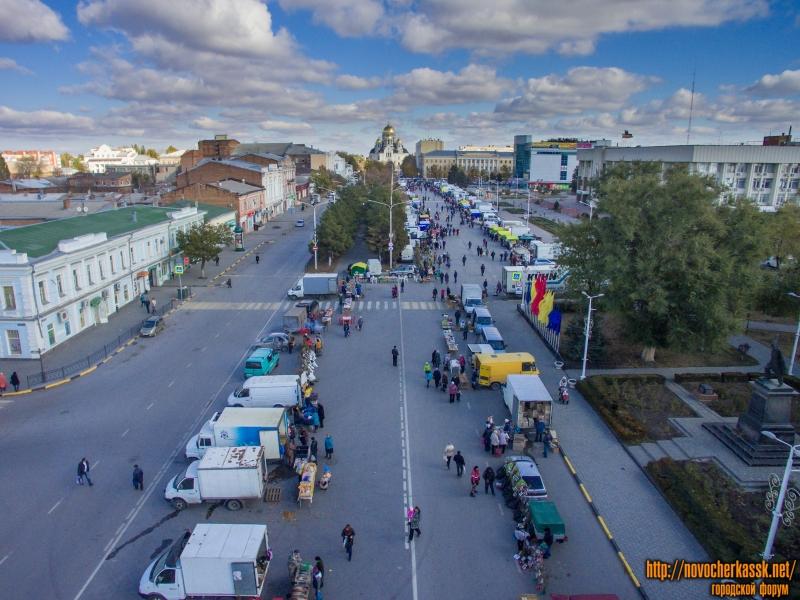 Ярмарка на Платовском, 31 октября