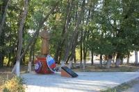 Памятник советскому солдату в переулке Рощинском