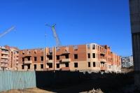 Строительство дома на улице Ященко
