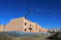 Строительство на улице Ященко