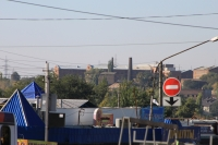 Вид на тюрьму с Азовского рынка
