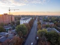 Рассвет в Новочеркасске. Улица Московская