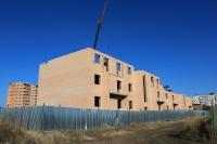 Строительство дома по улице Ященко