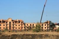 Строительство ЖК «Европейский», улица Сарматская