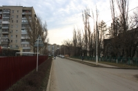 Переулок Юннатов. Вид в сторону Первомайской