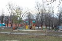 Детская площадка на прощади Чапаева