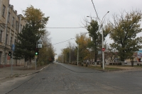 Платовский проспект. Вид с ул. Орджоникидзе