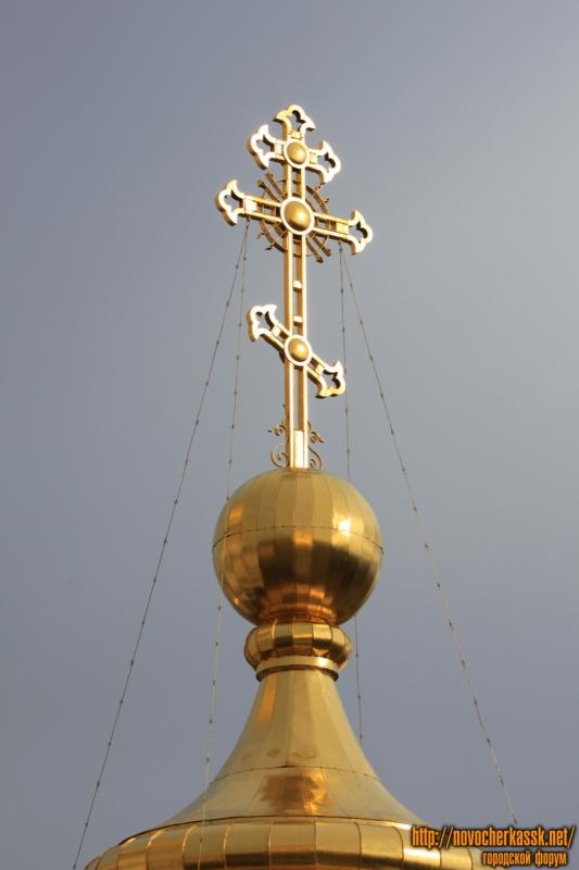 Крест на соборе