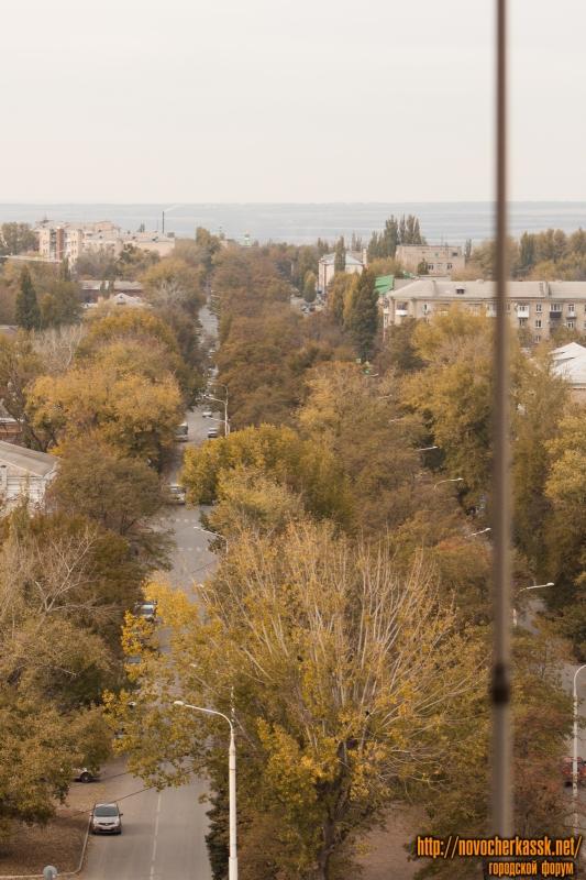 Проспект Ермака. Вид с собора