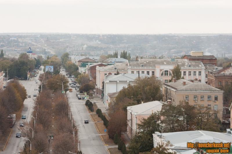 Платовский проспект с собора