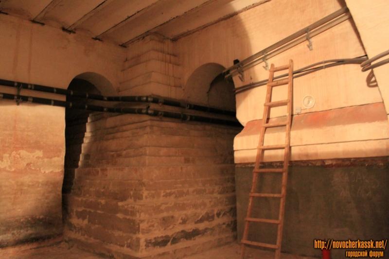 Подвалы собора