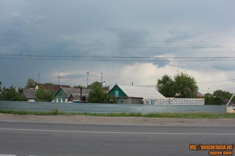 Улица Харьковская напротив стройбазы на Восточном