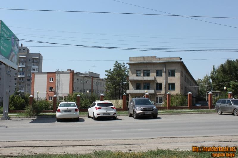 Детская больница и поликлиника. Улица Первомайская