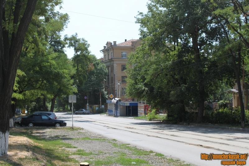 Вид на перекресток улицы Богдана Хмельницкого и Просвещения