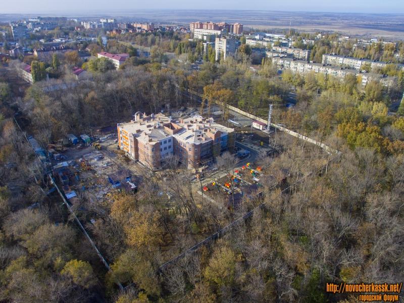Строительство детского садика в роще (по проспекту Баклановскому)