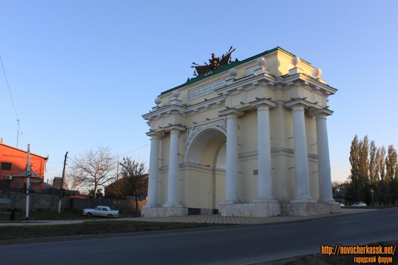 Триумфальная арка. Вид с северной стороны