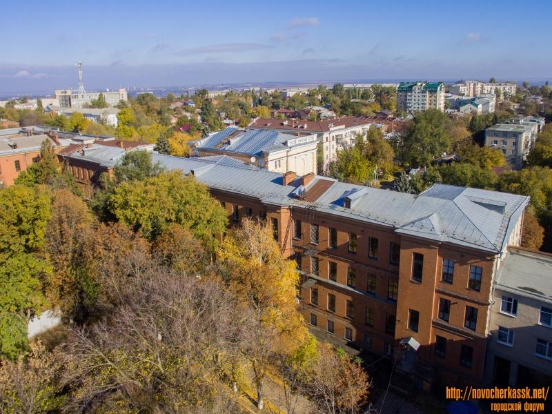 Корпус НГМА на улице Пушкинской (вид со двора)