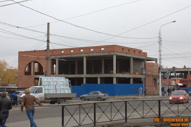Строительство ТЦ на Баклановском/Крылова