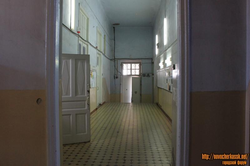 В здании энергетического факультета