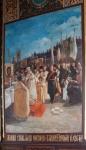Роспись в соборе. Закладка собора