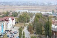 Проспект Ермака. Вид с колокольни Собора