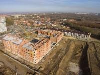 Строительство домов по улице Ященко и переулку Рощинскому