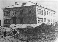 Посёлок Донской. Строительство яслей на 60 мест. 1955 год