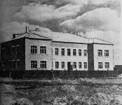 Посёлок Донской. Здание для детского сада. Открыт в 1955 году. Фото - 1955 год