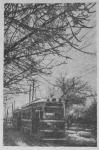 Трамвай на улице Пушкинской. 1957 год