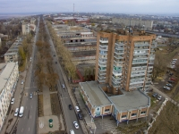 Проспект Баклановский и 14-этажка на Космосе