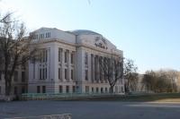 Главный корпус  ЮРГПУ (НПИ) (вид со стороны стадиона)