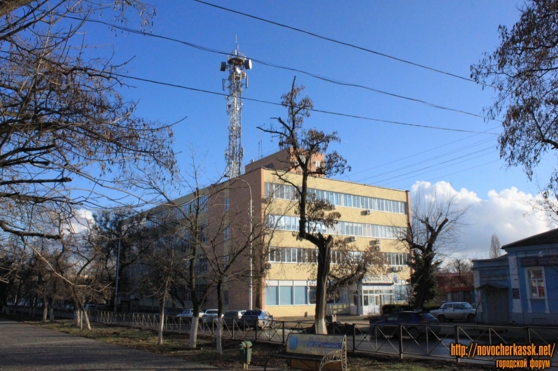 Здание ГТС. Проспект Баклановский, 25
