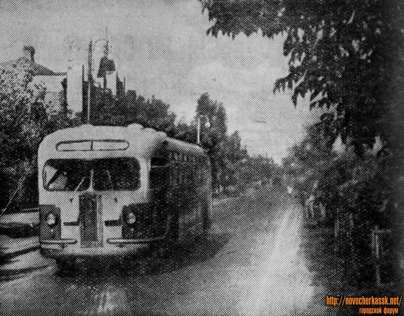 Проспект Жданова. Сентябрь 1954 года