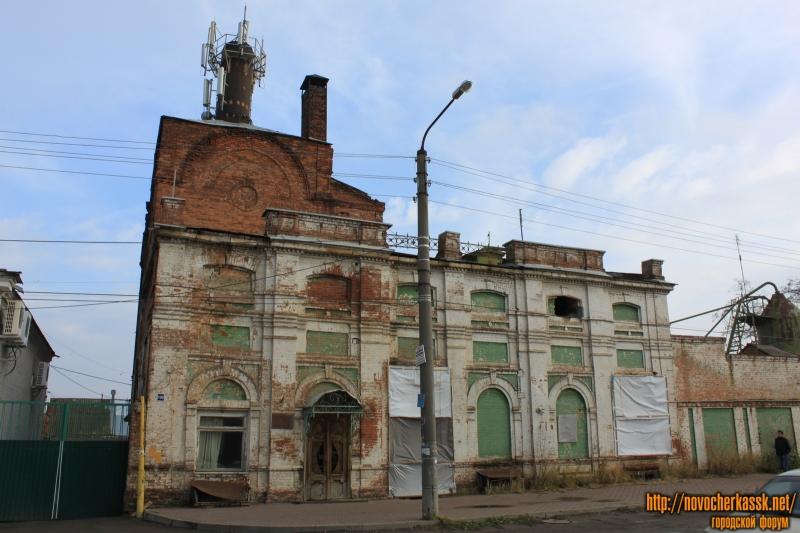 Здание пивзавода. Улица Фрунзе, 100