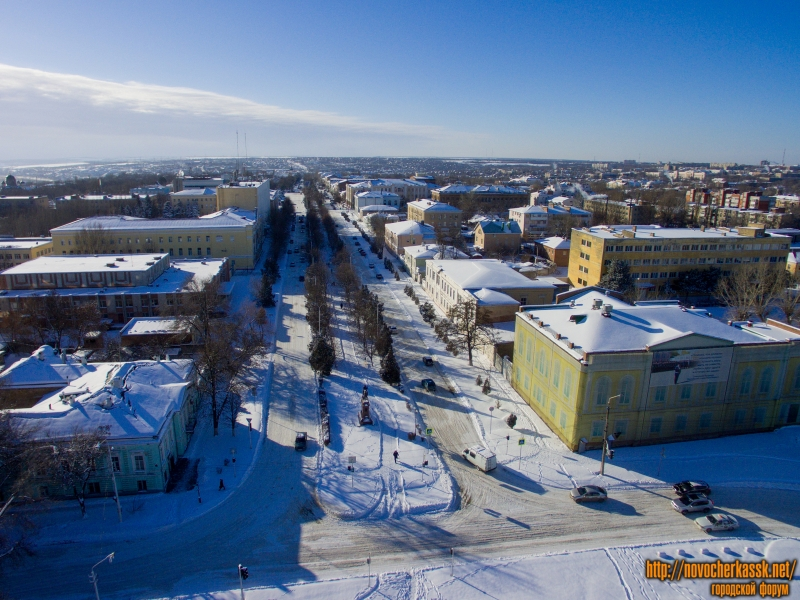 Зимний проспект Платовский