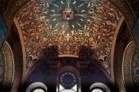 Роспись и часы в соборе