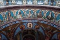 Росписи в соборе. Вид из под купола