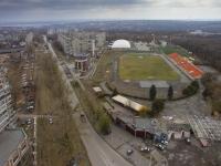 Улица Первомайская и стадион Ермака