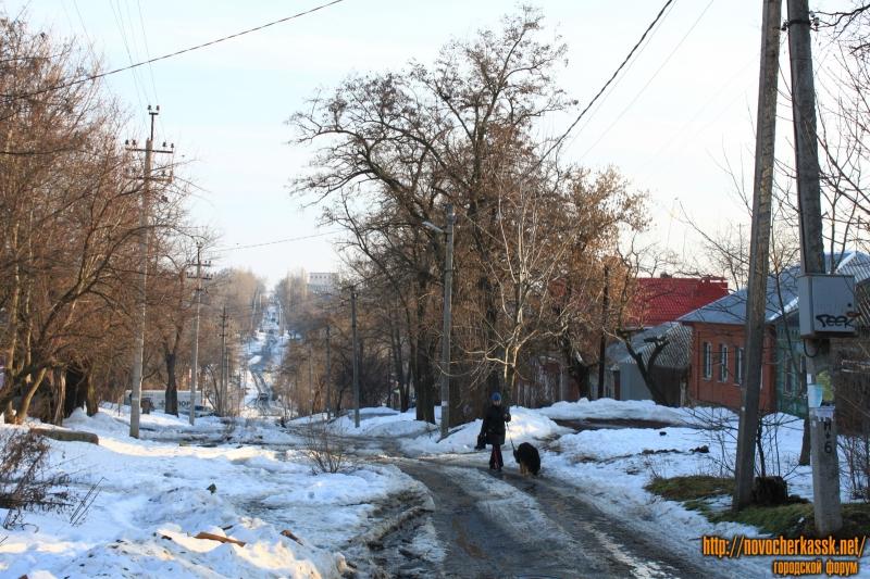 Улица Богдана Хмельницкого. Вид с Бакунина