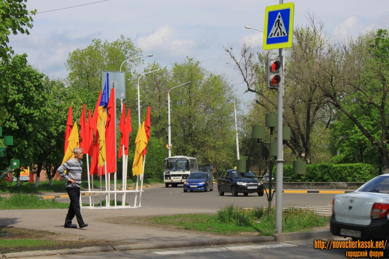 Начало проспекта Баклановского