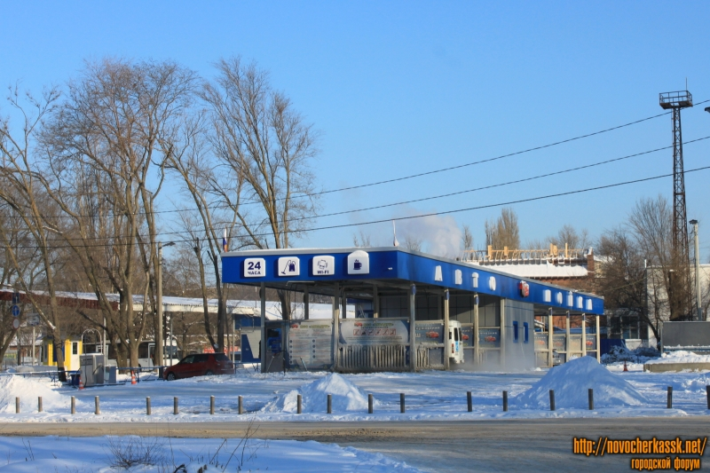 Автомойка на автовокзале. Проспект Баклановский