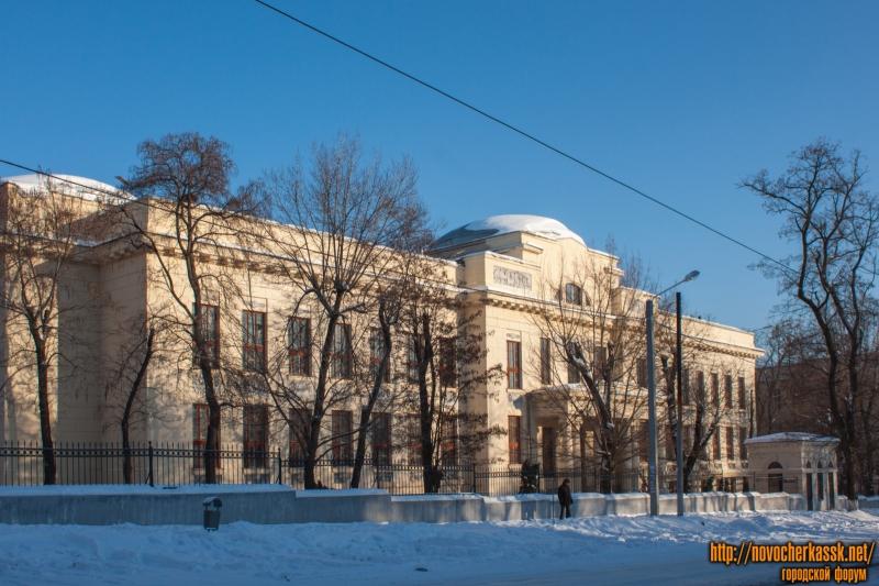 Корпус химического факультета ЮРГПУ (НПИ)