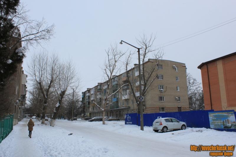 Вид улицы Свободы. Дом справа - улица Спортивная, 29
