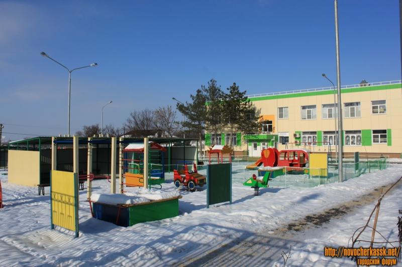 Территория детского сада №65 по улице Степной