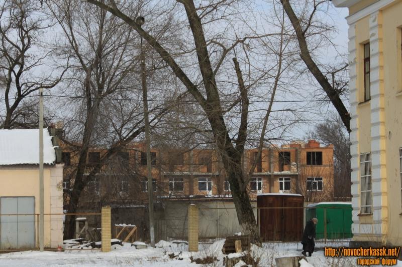 Строительство на улице Толбухина. Вид с Мацоты