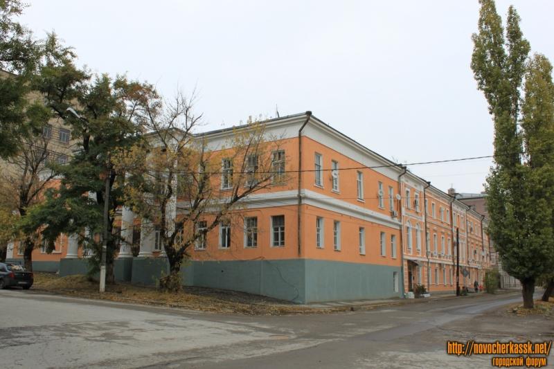 Отремонтированный дом на углу Александровской и Атаманской
